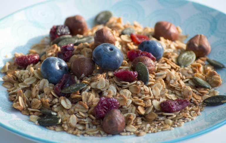 Recette bol artisan granola bio petit déjeuner