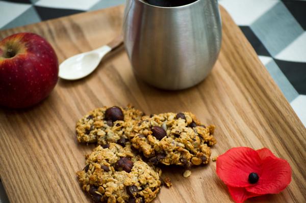 Recette granola cookie granola bio la main dans le bol