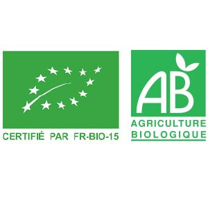 Certifié agricultutre biologique la main dans le bol